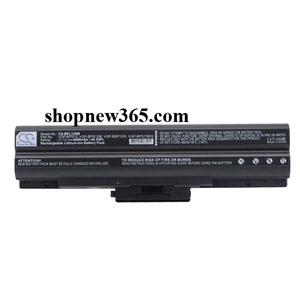 Pin battery Laptop Sony Vaio VGP-BPS13